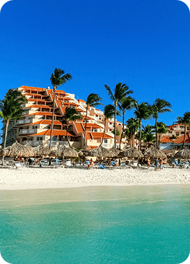 See the beautiful Aruba hotel destinations that Maduro Travel has to offer and discover Aruba.