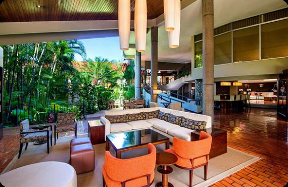 The Double Tree Cariari By Hilton located at San Antonio De Belen in Costa Rica.