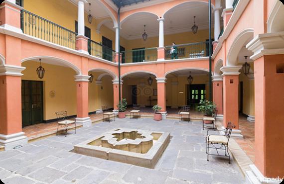 The Hotel De La Opera located in Bogota, Colombia.