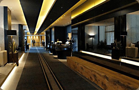 The Movich Buro 26 Hotel in Bogota Colombia.