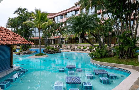 The Wyndham San Jose Herradura Hotel and Convention Center located in costa Rica.