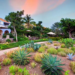 Kura Hulanda Lodge and Beach Club located at Playa Kalki in Curaçao.
