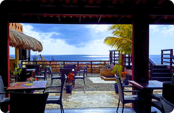 Punta West Bed and Breakfast located at Papaya Kavel on the island of Curaçao.